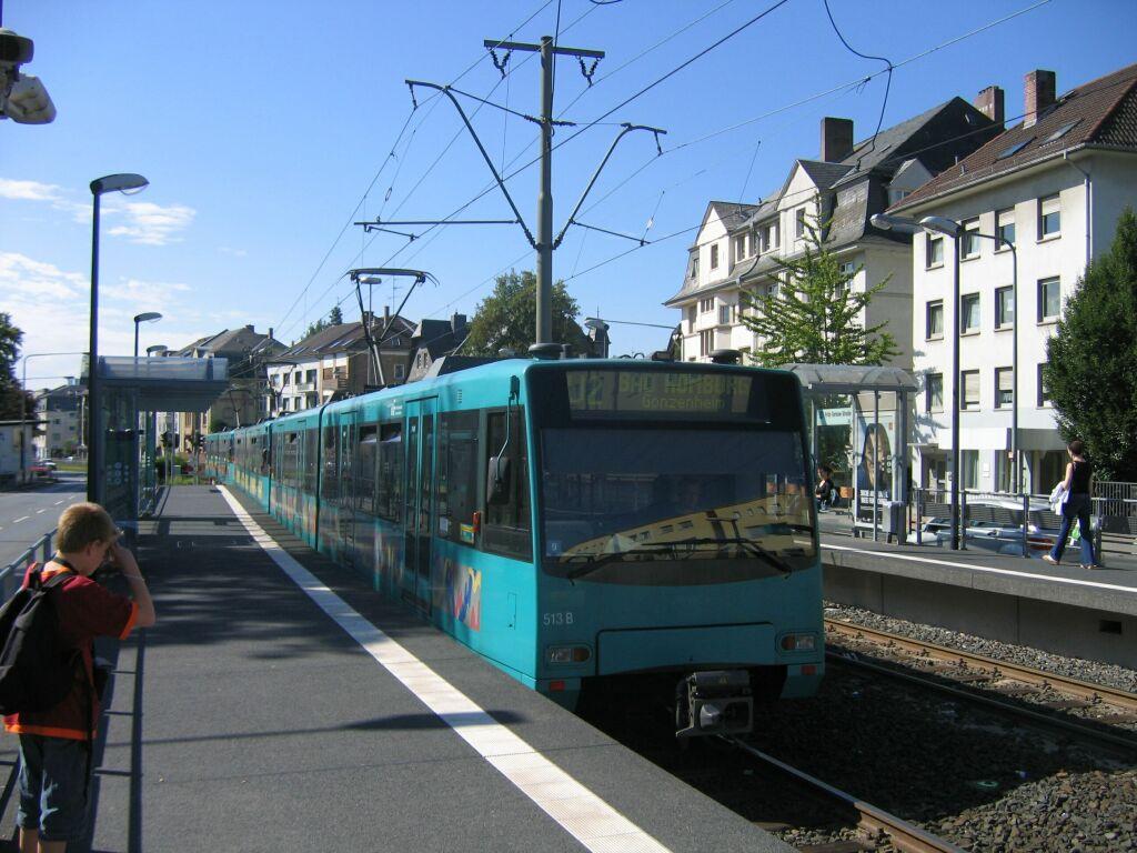 Picture gallery directory pix de trams frankfurt m u4 for Depot frankfurt am main