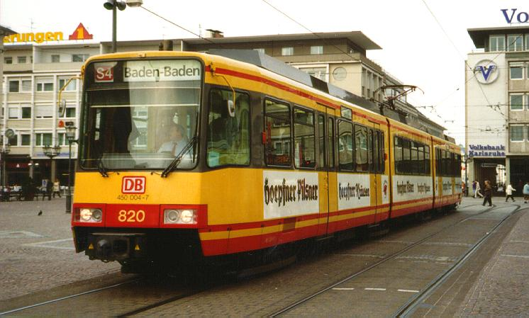 Picture gallery directory pix de trams karlsruhe gt8 for Outlet store karlsruhe