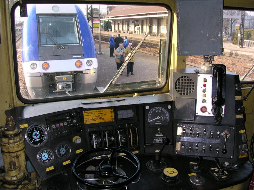sncf cc 7107, vezetőállás