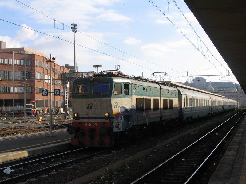 Picture gallery directory pix it electric e655 001 104 - Orari treni torino porta nuova genova brignole ...
