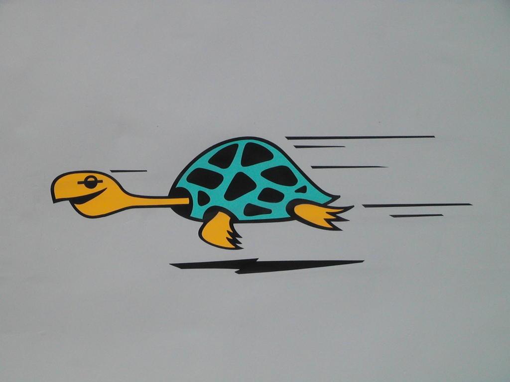 飞奔的小海龟~~~意大利的e444!