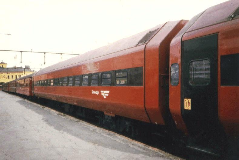 Sleeper Train From Oslo To Trondheim Night Trains Oslo